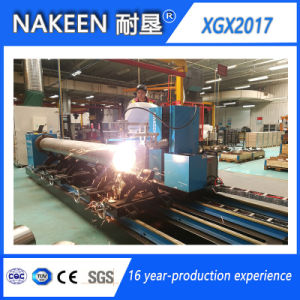 Five Axis CNC Steel Pipe Plasma Cutting Machine pictures & photos