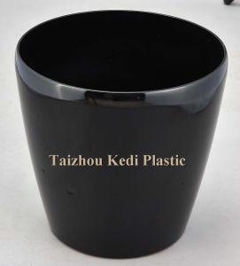 Shiny Dumpy Plastic Flower Pot (KD3831K-KD3836K) pictures & photos
