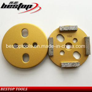 4 Inch Soft Bond Concrete Grinding Disc with Segments pictures & photos
