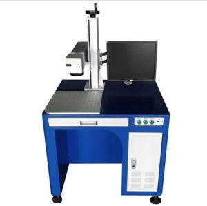 10W Desktop Fiber Laser Marking Machinery pictures & photos