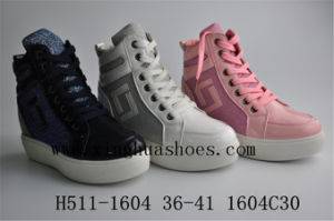 Patent Leather Medium Part Shoes pictures & photos