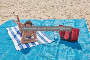 HDPE Cheap Price Anti Sand Mat Sand Free Beach Mat pictures & photos