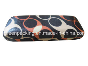 Optical Metal Case with Custom Pattern Print on PU Leather (DF4) pictures & photos