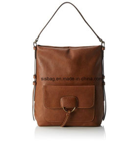 Classic Retro PU Women Shoulder Bag Women Handbag pictures & photos