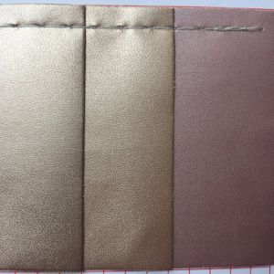 Elastic Backing Nappa PU Leather for Jewel Case Gift Box pictures & photos