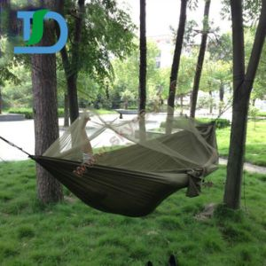 Nylon New Style Military Hammock with Mosquito Net pictures & photos