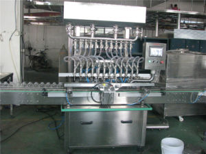 Automatic gravity filling machine for whisky alcohol vinegar soybean sauce pictures & photos