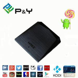 2016 Most Popular! Android 6.0 2g 8g M96X S905X Quad Core Set Top Box pictures & photos