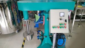 Lab Basket Mill for Paint, Paper, Pigment Wet Grinding & Mixing with Manual, Electrical, Hydraulic Lift pictures & photos