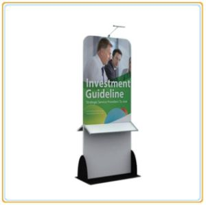 Banner Stand with Brochure Display Rack pictures & photos