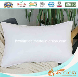 Anti-Allergy White Goose Down Filling Three Chamber Down Pillow pictures & photos