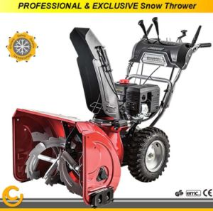 Professional Snow Blower 252cc Gasoline Loncin Engine pictures & photos