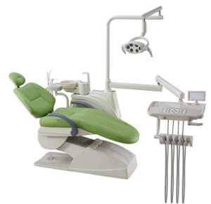 LED Sensor Lamp Ergonomic Patient Colorful Dental Chair pictures & photos