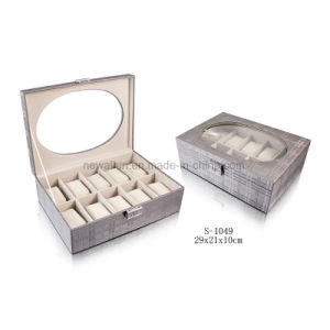 Elegant Display Storage Gift Display Wooden watch Box Watch Case pictures & photos