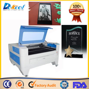 Jinan Factory Glass/Crystal CO2 CNC Laser Engraver pictures & photos