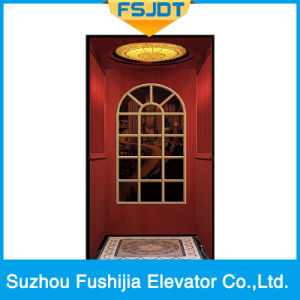 Vvvf Gearless Home Elevator pictures & photos