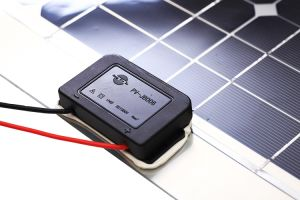 50W Poly Semi Flexible Solar Panel for Boat with Cable pictures & photos