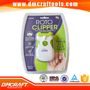 Automatic Roto Electric Nail Clipper with Light pictures & photos