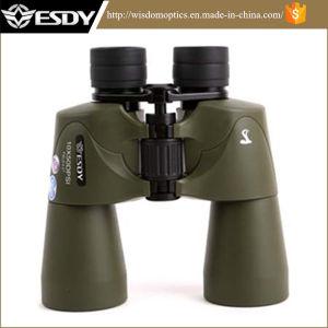 Green Color Esdy 10X50 Waterproof Binoculars pictures & photos