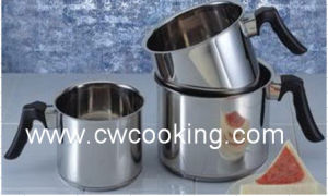 Stainless Steel Milk Pot Without Lid pictures & photos