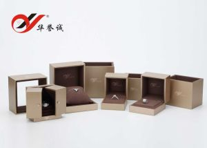 Gold Color Fashion Plastic Ring Box pictures & photos