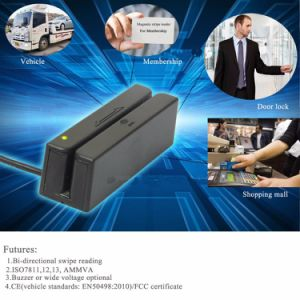 Manual Swipe Magnetic Smart Card Reader pictures & photos