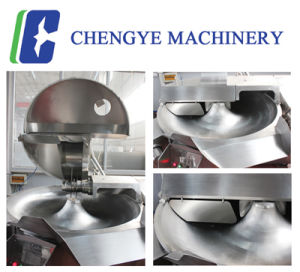 High-Speed Bowl Cutter Cutting Machine for Meat Sausage pictures & photos