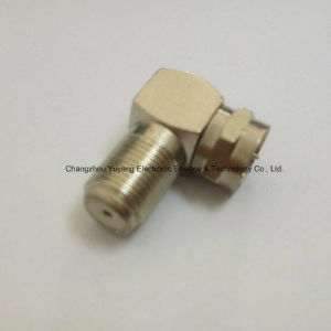 RF Coaxial BNC Adapter with Right Angle F Male to F Female pictures & photos