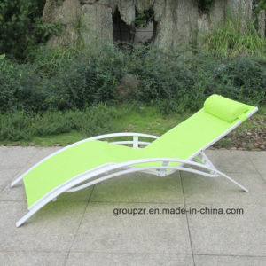 Outdoor Leisure Textilene Sunbed Beach Chair pictures & photos