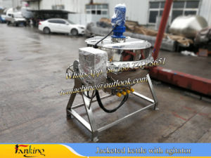 Jacketed Cooking Kettle 50~500L pictures & photos