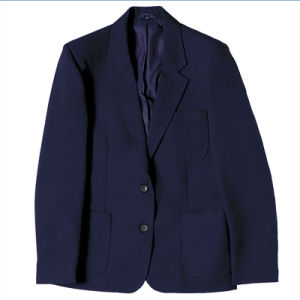 Girls and Boys Fitted School Uniform Blazer Jacket pictures & photos