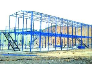 Two Layer Light Section Steel Structure pictures & photos