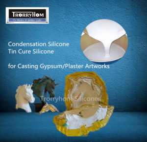 Tin Cure Liquid Silicone for Gypsum Decorations Works pictures & photos
