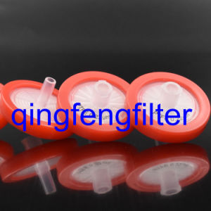 25mm PTFE 0.22um Syringe Filter for Venting/Gas Filtration pictures & photos