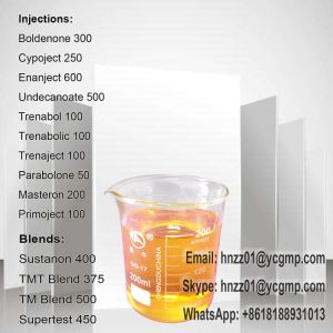 Semi Finished Liquid Testosterone Sustanon 200 Blend for Body Building pictures & photos