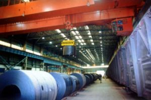 Double Girder Overhead Crane with Electromagnet pictures & photos