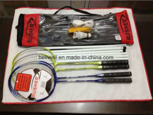 Badminton Racquets and PVC Volley Ball Set pictures & photos