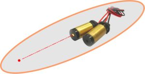 Danpon Red /Green Laser Modules Laser Diode with Aspheric Collimator Glass Lens pictures & photos