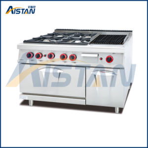 Gh999A Gas 4 Burners with Grill with Gas Oven pictures & photos