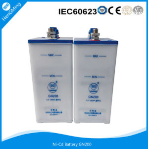 1.2V 200ah Ni-CD Battery /Solar Nickel Cadmium Battery/ UPS Battery pictures & photos