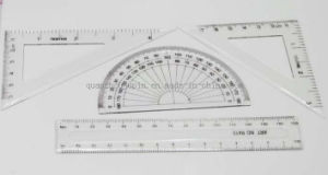 OEM New Product Plastic Student Ruler Set and Office Stationery pictures & photos