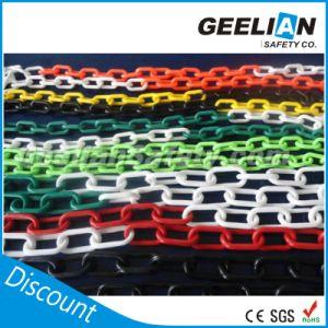 Double Plastic Caution Color Chain PE 6mm & 8mm Chain Sale pictures & photos