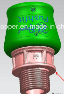 Pushfit Connection for PE Pipe pictures & photos
