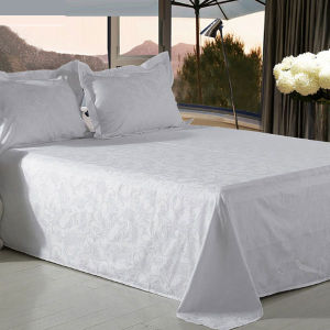 Jacquard Weave Design Bed Sheet Bedding Set pictures & photos