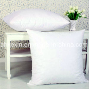 2-4cm Grey Duck Feather Pillow Insert with Cotton Fabric pictures & photos