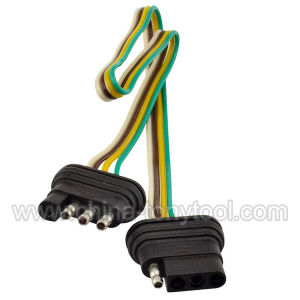 4 Way 4 Pin Plug Flat 20 Gauge Trailer Light Wiring Harness Extension china 4 way 4 pin plug flat 20 gauge trailer light wiring harness 7 pin wiring harness extension at soozxer.org