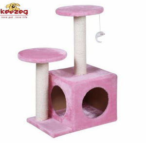 Durable Natural Sisial Cat Scratching Tree for Cat Toys (KG0003) pictures & photos