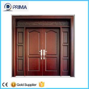 Modern Main Solid Wood Door, Entrance Doors Design pictures & photos