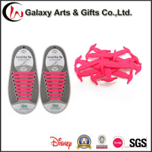 Flat Elastic No Tie Easy Lock and Clean Shoelace pictures & photos