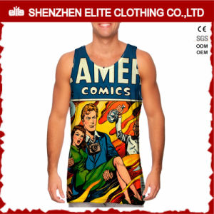 Wholesale Custom Sublimation Printed 100 Polyester Vest (ELTMBJ-364) pictures & photos
